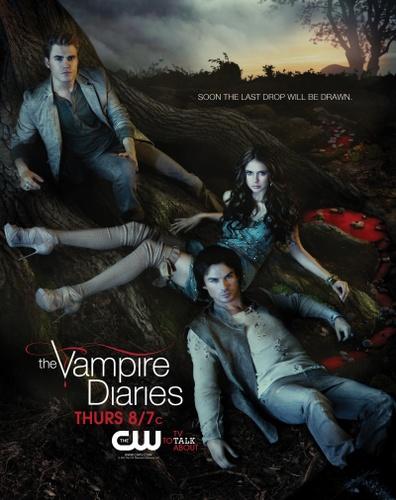 The Vampire Diaries (2010) Poster