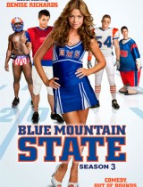 Blue Mountain State Spike season 3 2011 poster