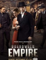 Boardwalk Empire HBO season 2 2011 poster