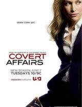 Covert Affairs USA Network poster season 2 2011