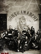 Sons of Anarchy FX season 4 2011 poster