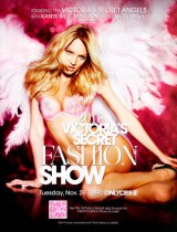 The Victorias Secret Fashion Show 2011 poster