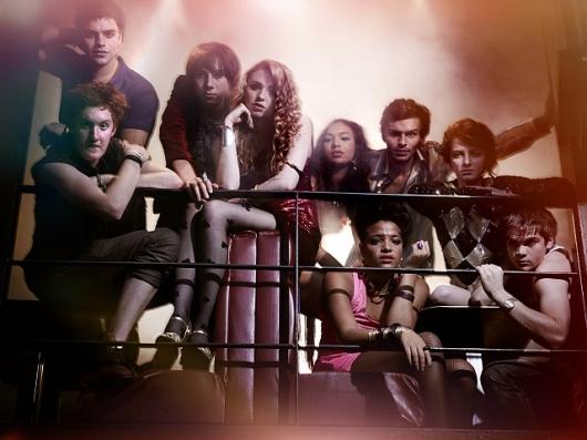 Skins season 6 cast, copyright E4, 2012