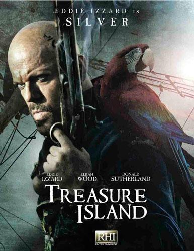 Treasure Island 2012 poster