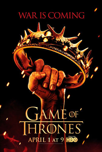 Game of Thrones 2012 poster