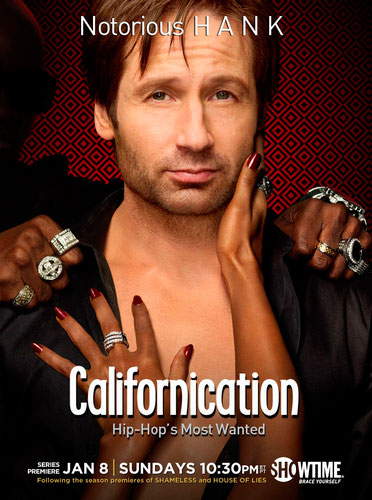 Californication Showtime season 5 2012 poster