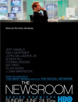 the newsroom HBO season 1 2012 poster