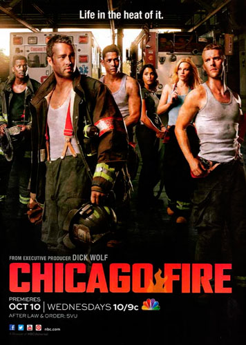 Chicago Fire NBC season 1 2012 poster
