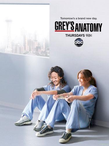 Greys Anatomy season 8 ABC poster 2011
