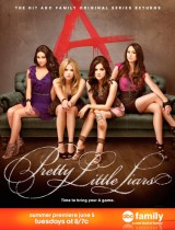 Pretty Little Liars ABC family season 3 poster
