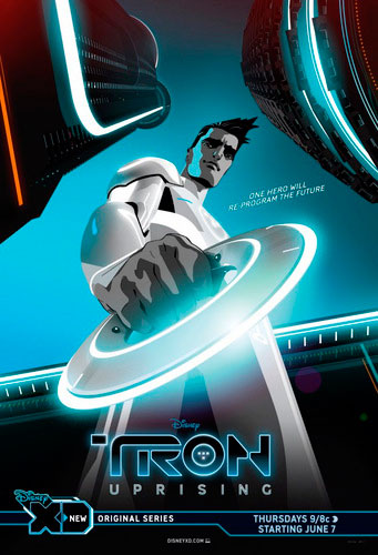 tron uprising disney hd 2012 poster