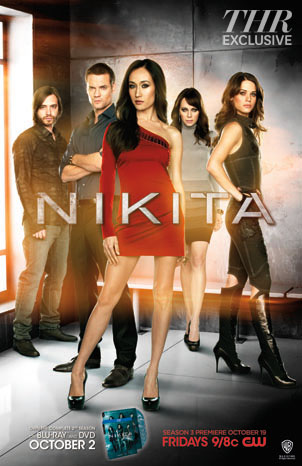 Nikita the CW season 3 2012 poster