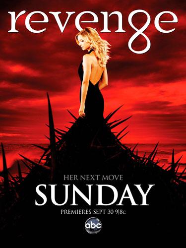 revenge abc season 2 poster 2012