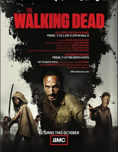 The Walking Dead AMC season 3 poster