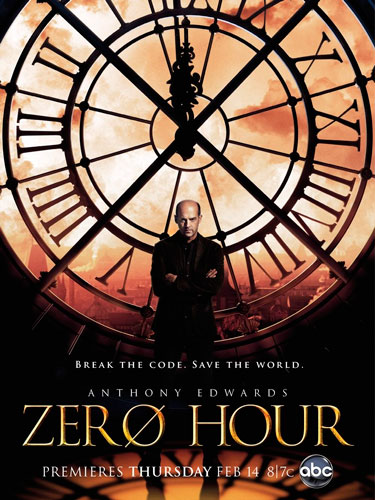 zero hour ABC season 1 2013 poster