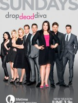 Drop Dead Diva lifetime season 4 2012 poster