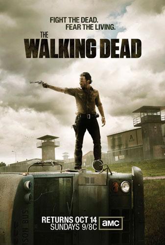 The Walking Dead - Season 3 (2012) Poster HD