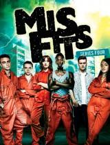 misfits E4 season 4 2012 poster