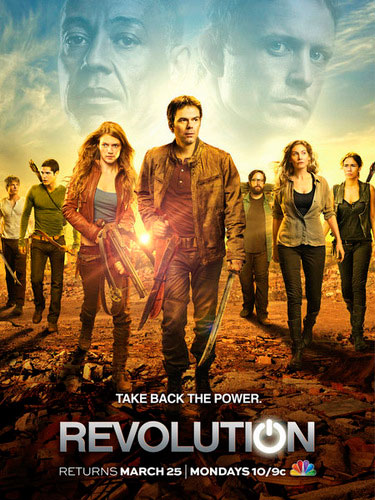 Revolution NBC season 1 2013 poster