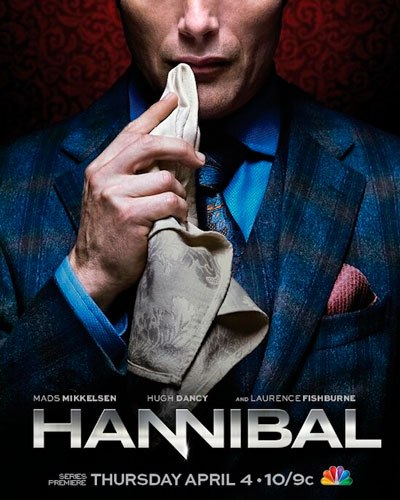 hannibal NBC season 1 2013 poster