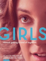 girls HBO season 2 2013 poster