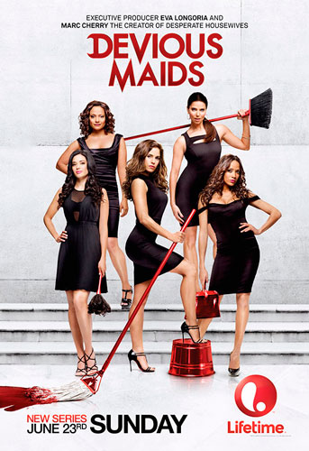 Devious Maids season 1 2013 Lifetime poster