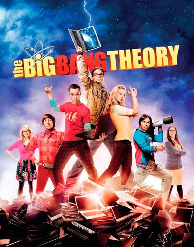 The Big Bang Theory CBS poster