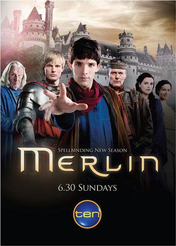 Resultado de imagen de merlin poster bbc series