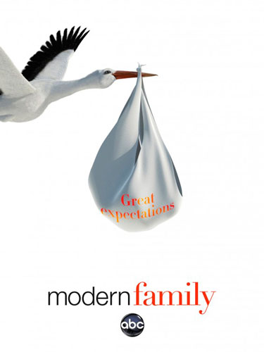modern family ABC season 4 poster 2012