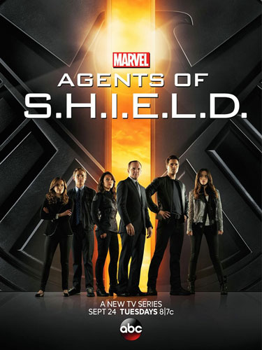 Agents of SHIELD ABC season 1 2013 poster