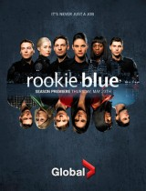 rookie blue season 4 2013 Global poster