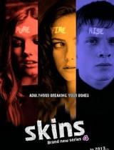 Skins E4 season 7 2013 poster
