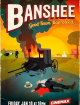 Banshee Cinemax season 2 2014 poster
