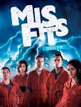 Misfits E4 season 5 2013 poster