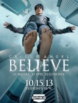 Criss Angel Believe Spike season 1 2013 poster
