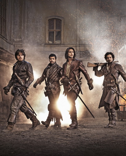 the musketeers BBC season 1 2014