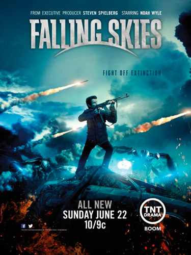 Falling Skies TNT poster season 4 2014