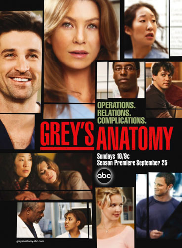 Greys Anatomy season 2 ABC poster 2005