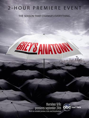 Greys Anatomy season 6 ABC poster 2009