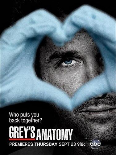 Greys Anatomy season 7 ABC poster 2010