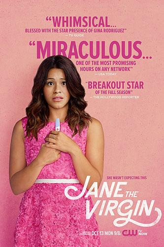 Jane the Virgin poster season 1 2014 The CW