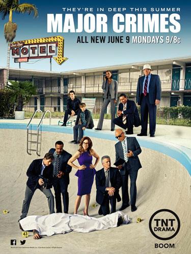 Major Crimes TNT poster season 3 2014
