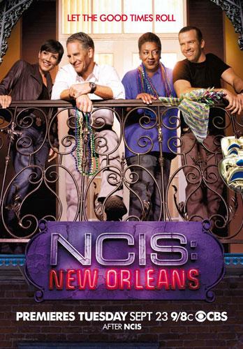 NCIS New Orleans season 1 CBS poster 2014