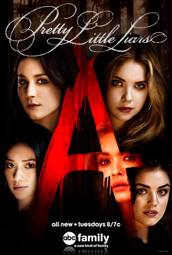 Pretty Little Liars poster ABC Family season 5 2014