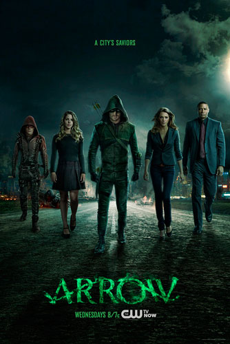 Arrow poster The CW season 3 2014