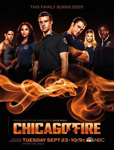 Chicago Fire poster NBC season 3 2014
