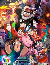 Gravity Falls Disney Channel poster season 2 2014
