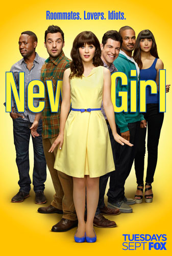 New Girl poster FOX season 4 2014