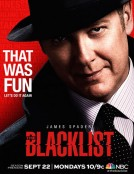 The Blacklist season 2 NBC poster 2014