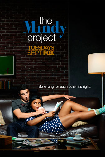 The Mindy Project poster FOX season 3 2014